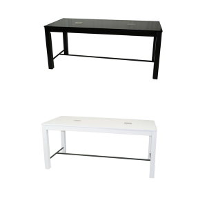 Volt Odin USB Cafe Tables - V-Decor Trade Show Furniture Rentals in Las Vegas