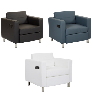 Volt Bay Chairs - V-Decor Trade Show Furniture Rentals in Las Vegas