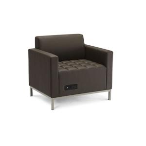 Volt Flux Arm Chair - V-Decor Trade Show Furniture Rentals in Las Vegas