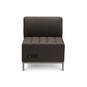 Volt Flux Armless Chair - V-Decor Trade Show Furniture Rentals in Las Vegas