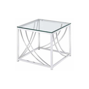 Amber End Table - V-Decor Trade Show Furniture Rentals in Las Vegas