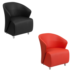 Barrel Lounge Chairs - V-Decor Trade Show Furniture Rentals in Las Vegas